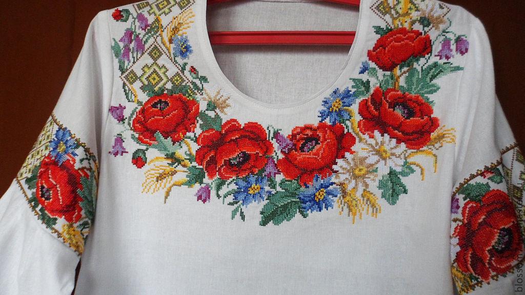 Купить льняную блузку
