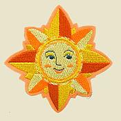 Материалы для творчества handmade. Livemaster - original item embroidery applique patch Star Roza Vetrov charm decal. Handmade.