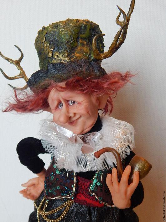 Коллекционные куклы ручной работы. Ярмарка Мастеров - ручная работа. Купить Дядюшка Вильямс. Handmade. Комбинированный, авторская кукла