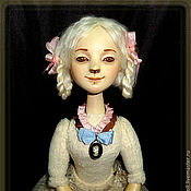 Куклы и игрушки ручной работы. Ярмарка Мастеров - ручная работа Агния игровая кукла. Handmade.