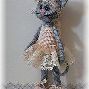 Мягкие игрушки ручной работы. Ярмарка Мастеров - ручная работа Кошка-балерина. Handmade.