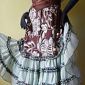 Одежда ручной работы. Ярмарка Мастеров - ручная работа летняя бохо – юбка. Киприда. Handmade.
