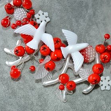 Works for children handmade. Livemaster - original item Jewelry set for girls