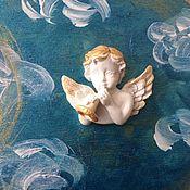 Для дома и интерьера ручной работы. Ярмарка Мастеров - ручная работа Ключница «Мелодия ангелов». Бирюзовый цвет. Ангелы. Музыка. Handmade.
