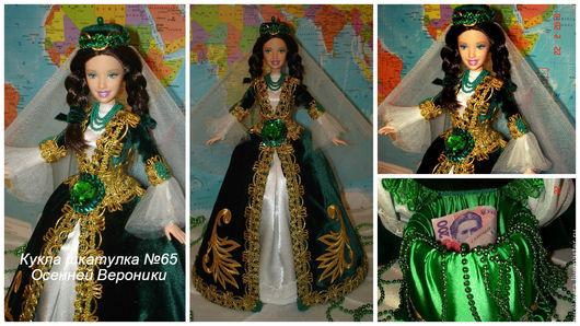 кукла в крымско-татарском костюме