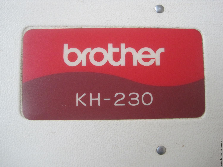 BROTHER KH-230 класс 3, Вязание, Рассказово, Фото №1