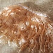 Материалы для творчества handmade. Livemaster - original item Mohair tress (Muscat) (Hair for dolls). Handmade.