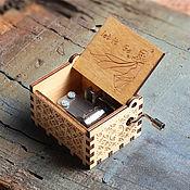 Музыкальные инструменты handmade. Livemaster - original item Beige music box music from m/f Cold heart. Handmade.