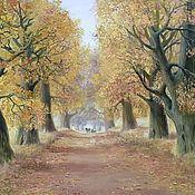"Картины и панно handmade. Livemaster - original item Oil painting ""I have dreamed since childhood "", landscape. Handmade."