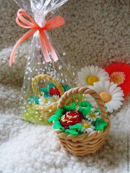 """Мыло ручной работы. Ярмарка Мастеров - ручная работа. Купить Мыло """"Цветочное лукошко"""". Handmade. Сувенирное мыло, цветочное мыло"""