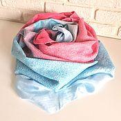 Аксессуары handmade. Livemaster - original item scarf felted the bottom of the Sea. Handmade.