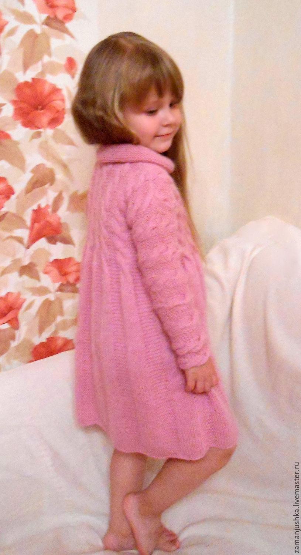 Поиск на Постиле: Платье спицами для девочки 70