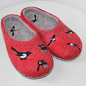 Обувь ручной работы handmade. Livemaster - original item Felted Slippers. Felted Slippers