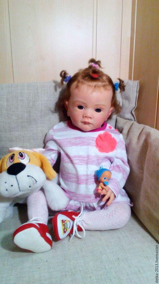 Куклы-младенцы и reborn ручной работы. Ярмарка Мастеров - ручная работа. Купить Малышка Фаечка. Handmade. Бежевый