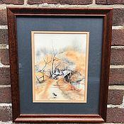 Винтаж handmade. Livemaster - original item Painting