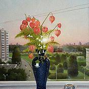 Картины и панно handmade. Livemaster - original item The author`s picture of the Morning. Handmade.