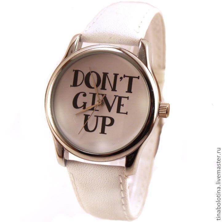 Часы ручной работы. Ярмарка Мастеров - ручная работа. Купить Дизайнерские наручные часы Догма. Handmade. Белый, стильный аксессуар