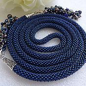 Украшения handmade. Livemaster - original item Lariat harness beaded