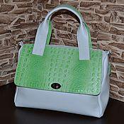 Сумки и аксессуары handmade. Livemaster - original item Leather bag leather Handbag Model 137. Handmade.