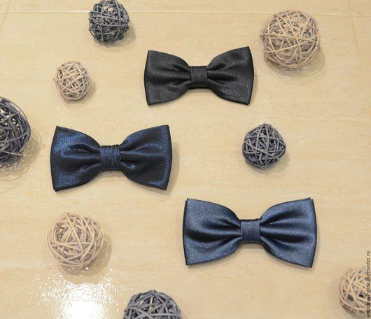 """Галстуки, бабочки ручной работы. Ярмарка Мастеров - ручная работа. Купить Бабочка галстук """"Blue style"""". Handmade. Тёмно-синий"""