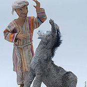 Куклы и игрушки ручной работы. Ярмарка Мастеров - ручная работа Ходжа Насреддин и Ослик. Handmade.