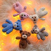 Наборы для фотосессий ручной работы. Ярмарка Мастеров - ручная работа Реквизит для фотосъемки новорожденных, подарок многодетным,набор мишек. Handmade.