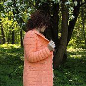 Одежда ручной работы. Ярмарка Мастеров - ручная работа Кардиган Розали. Handmade.