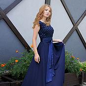 """Одежда ручной работы. Ярмарка Мастеров - ручная работа Платье нарядное,платье вечернее, дизайнерское """"Ромашки"""". Handmade."""