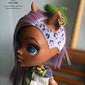Куклы и игрушки ручной работы. Ярмарка Мастеров - ручная работа ООАК Клодин Вульф Monster High. Handmade.