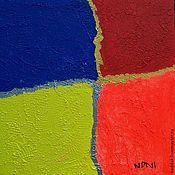 Картины и панно ручной работы. Ярмарка Мастеров - ручная работа Абстракция Квадраты. Handmade.