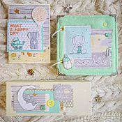 Подарки к праздникам ручной работы. Ярмарка Мастеров - ручная работа Набор для новорожденного. Handmade.