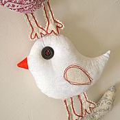 Для дома и интерьера ручной работы. Ярмарка Мастеров - ручная работа Панно Счастливые птички. Handmade.