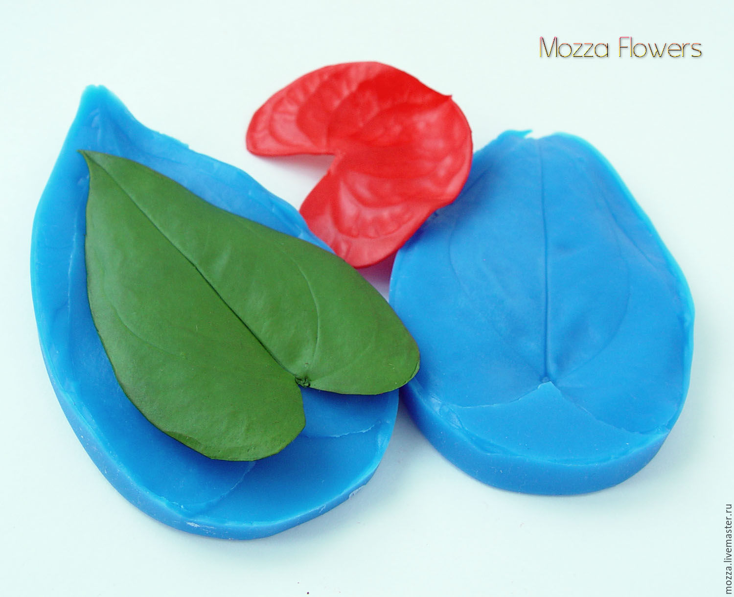 Silicone mold 'Leaf Anthurium', Molds for making flowers, Zarechny,  Фото №1