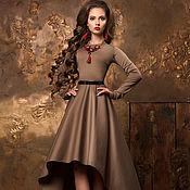 Одежда ручной работы. Ярмарка Мастеров - ручная работа Платье с юбкой каскадом. Handmade.