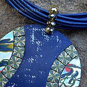 Украшения ручной работы. Ярмарка Мастеров - ручная работа кулон из полимерной глины Река Жизни. Handmade.