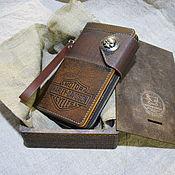 Сумки и аксессуары handmade. Livemaster - original item Traveler. Longer. Long wallet. Organizer. Biker clutch bag. Handmade.