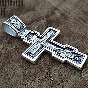 Украшения handmade. Livemaster - original item The Cross (Prayer Of The Precious Cross). Silver 925 art.1065401. Handmade.