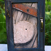 Для дома и интерьера handmade. Livemaster - original item Key box AN OLD-OLD KEY BOX. Handmade.