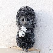 Stuffed Toys handmade. Livemaster - original item hedgehog in the fog. Handmade.