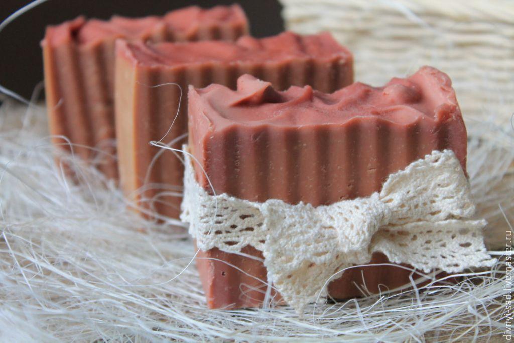 НЕЖНЫЙ РОЗОВЫЙ ШЕЛК Натуральное шелковое мыло, Масла и смеси, Краснодар, Фото №1