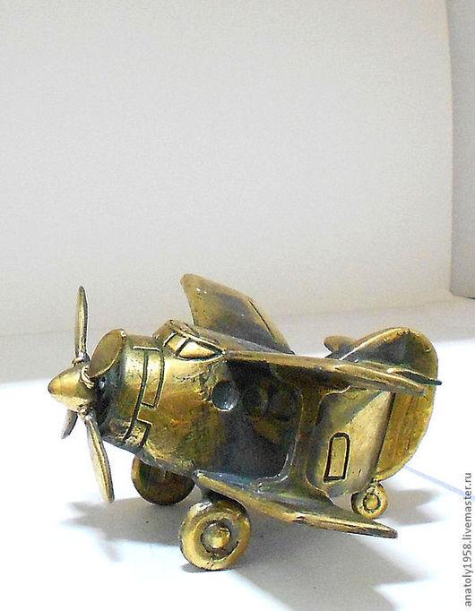 """Колокольчики ручной работы. Ярмарка Мастеров - ручная работа. Купить Колокольчик""""Самолёт"""". Handmade. Серебряный, полет, кукурузник, колокольчик, аэрофлот"""