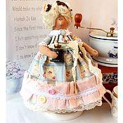 Куклы и игрушки ручной работы. Ярмарка Мастеров - ручная работа Тильда толстушка или кофейная фея. Handmade.