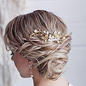 handmade. Livemaster - original item Wedding hairstyle with comb, wedding hair comb. Handmade.