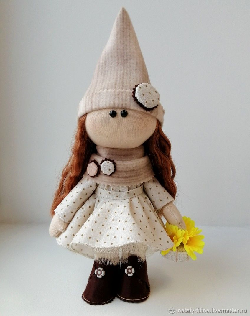 Кукла интерьерная: Мисс Гномочка, Тыквоголовка, Петрозаводск,  Фото №1