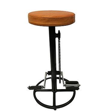 Мебель ручной работы. Ярмарка Мастеров - ручная работа Барный стул в стиле лофт, индастриал, стимпанк. Handmade.
