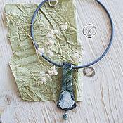 Украшения handmade. Livemaster - original item Pendant with rose. Handmade.