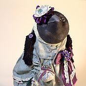Куклы и игрушки ручной работы. Ярмарка Мастеров - ручная работа Ворона Виолетта / Violetta. Handmade.