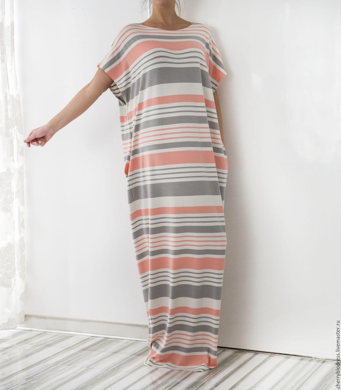 Сшить длинное пляжное платье
