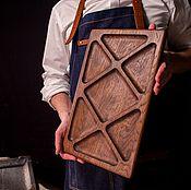 Для дома и интерьера handmade. Livemaster - original item Large tray mananita oak. Handmade.