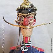 """Куклы и игрушки ручной работы. Ярмарка Мастеров - ручная работа """"Многоствольный Фриц"""" - оберлейтенант Фридрих фон Фурцер. Handmade."""